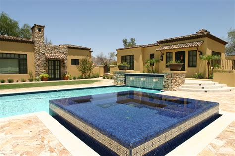 glass tile swimming pool designs luxury pools