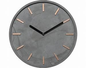 Beton Pigmente Hornbach : wanduhr beton 28 cm bei hornbach kaufen ~ Buech-reservation.com Haus und Dekorationen