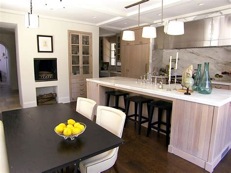 kitchen island seats 4 peninsula kitchen design pictures ideas tips from hgtv
