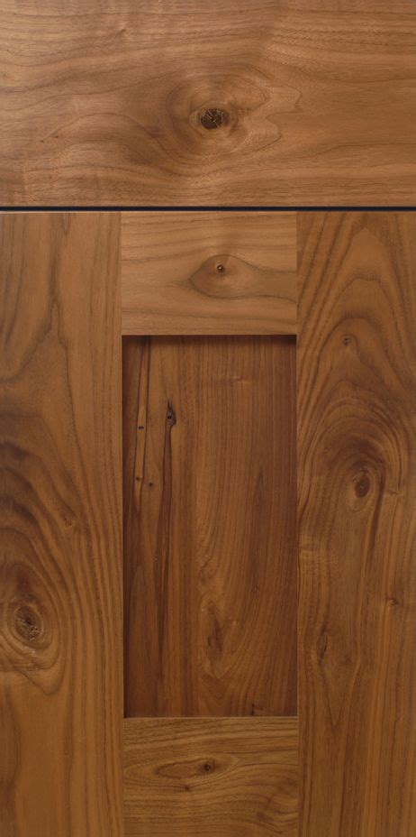 rustic kitchen cabinet doors rustic walnut shaker cabinet door design with stiles and Rustic Kitchen Cabinet Doors