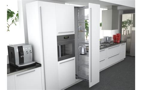 install kitchen cabinets height pullout pantry 1880 2180mm high enko 1880