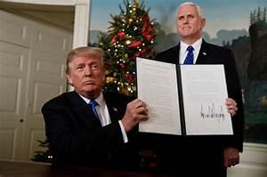 In White House Speech Trump Recognizes Jerusalem As ...