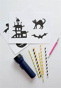 Diy  Halloween Shadow Puppets  With Free Template