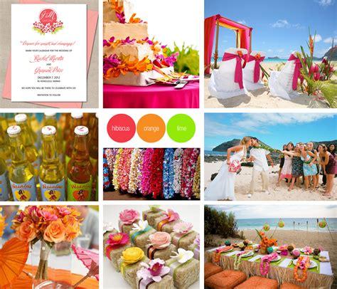 Aloha! Hawaiian Wedding  Blog  Toronto Wedding Invitations
