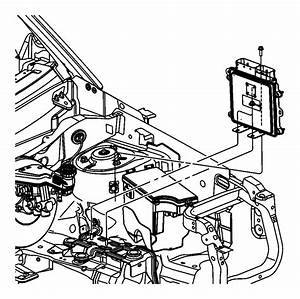 2010 Chrysler Sebring Module  Powertrain Control  Generic