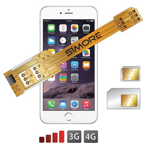 iphone 6 sim x 6 dual sim adapter for iphone 6 dual sim card