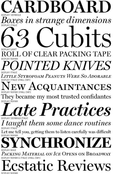 font bureau fonts the font bureau inc graphic design history the list