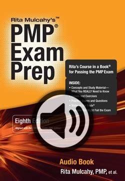 pmp exam prep eighth edition audio book  rita mulcahy