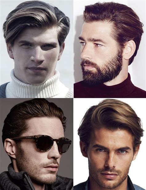best hairstyles for men according to face shape