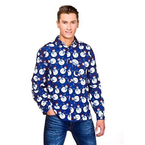 mens christmas shirts long sleeved xmas fancy dress adult