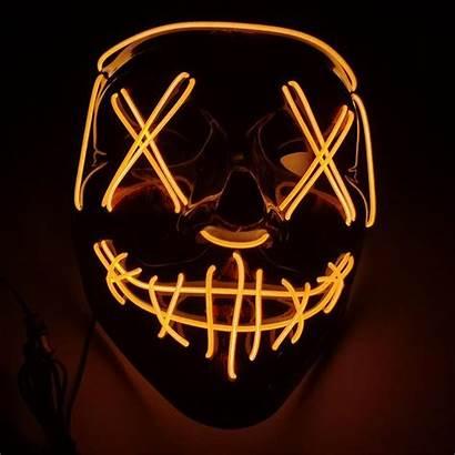 Purge Mask Led Halloween Masks Ghost Movie