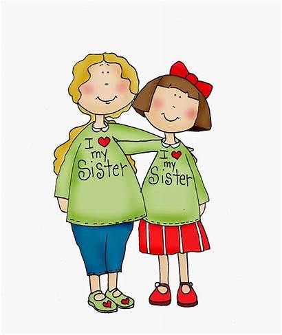 Sisters Sister Clipart Clip Digi Dearie Dolls