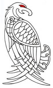 viking designs viking celtic eagle outline by vikingtattoo on deviantart