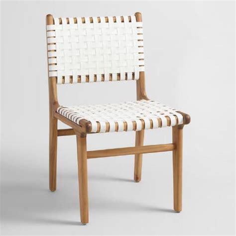 white girona dining chairs set of 2 world market