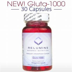 Authentic Relumins Advance Nutrition Reduced L