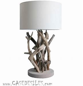 Lampe Chevet Bois Flotté : lampe de chevet bouddha pas cher creapach ~ Melissatoandfro.com Idées de Décoration