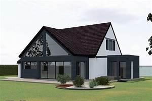 aec realisation conception et plan 3d With projet d extension maison