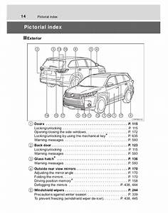 2017 Toyota Highlander Owners Manual - Zofti
