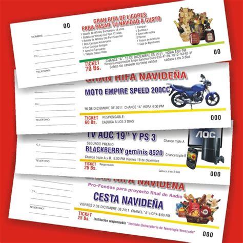talonarios entradas rifas sorteos imprentaonline toledo loter 237 a