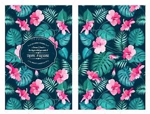 Tropical Flower Pattern by Kotkoa GraphicRiver