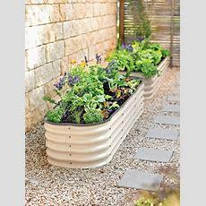 Modular Raised Bed  Aluzinc Steel  Gardener's Supply