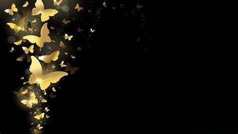golden butterflies phone wallpapers