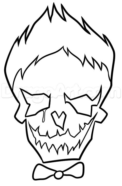 joker coloring pages    joker coloring
