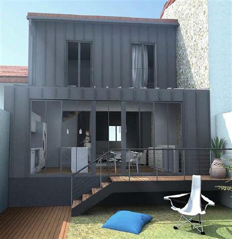 extension cuisine sur jardin projet de rnovation