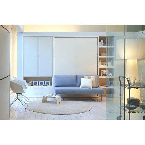 lit escamotable 2 places lit rabattable escamotable 2 places ulisse sofa avec canap 233 et literie 150x200 cm