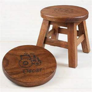 About A Stool : personalised wooden stool for children by when i was a kid ~ Buech-reservation.com Haus und Dekorationen