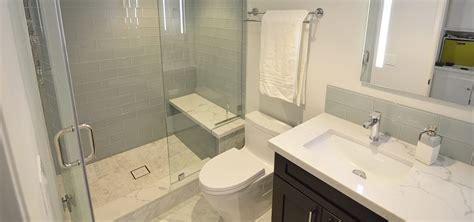contemporary guest bathroom remodel  upland ca