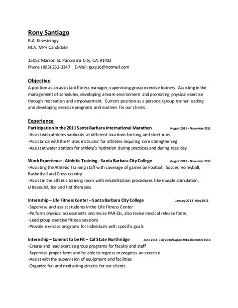 personal trainer resume exle 24 personal group fitness trainer resume cv