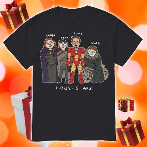 tony stark house stark game  thrones shirt hoodie tank