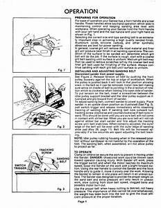 Craftsman 31511721 User Manual 3 Inch Belt Sander Manuals
