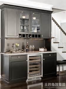 stand alone kitchen island 现代欧式酒柜造型图 土巴兔装修效果图