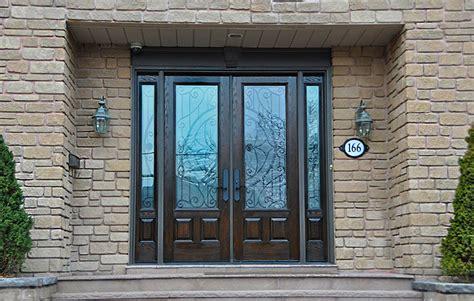 entrance doors fiberglass vs steel entry doors