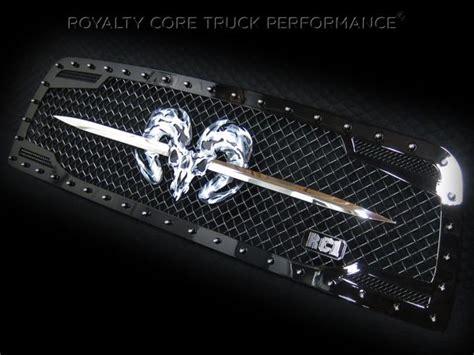 speared ram skull emblems badges logos vehicle