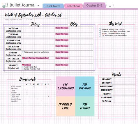organization | Tumblr | Bullet journal onenote, Bullet ...