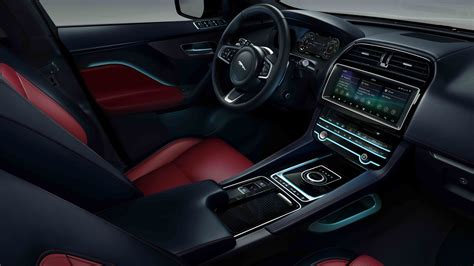 Jaguar F Pace 4k Wallpapers by Jaguar F Pace Chequered Flag 2019 4k Interior Wallpaper