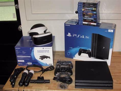 ps4 console bundle playstation 4 ps4 pro 1tb console psvr vr reality