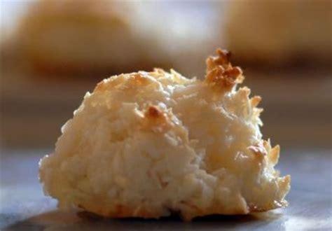 macarons  la noix de coco recette sur gourmetpedia