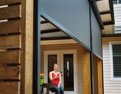 motorized retractable screens for porches patios and lanais