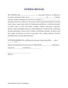 General Release Form