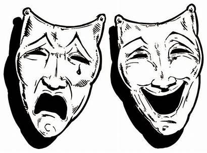 Masks Happy Theatre Sad Drama Festival Theater