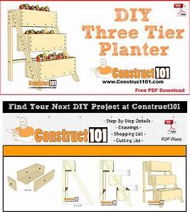 3 Tier Planter Plans