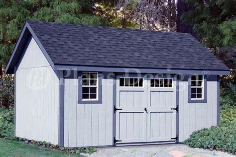 storage shed plans 12 x 14 gable roof design d1214g