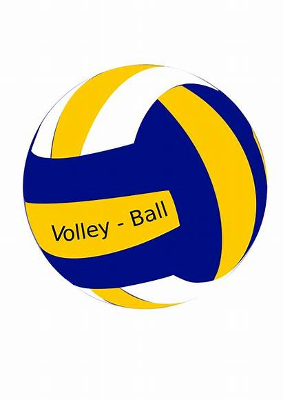 Volleyball Ball Female Clipart Volley Svg