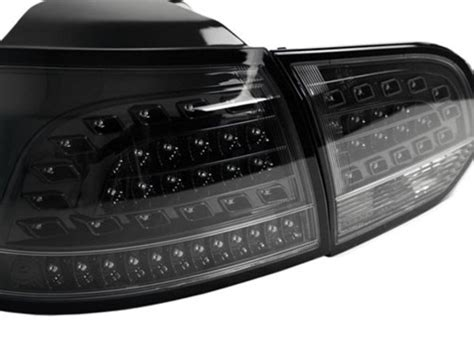 vw mk european style led tail lights blacksmoke