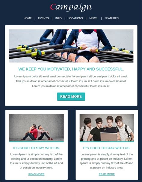 sample marketing email template  documents  psd