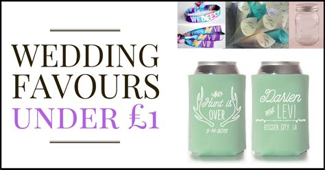 57 cheap wedding favour ideas for under £1   Real Wedding